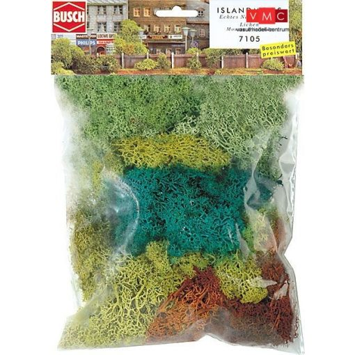 Busch 7105 Izlandi moszat (70 g), 4 színben