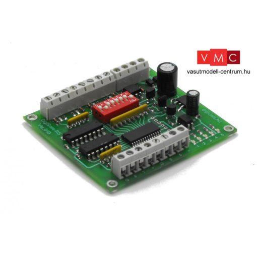 D124 DigiTools DigiSens-8-RS - érzékelő és visszajelentő áramkör, Lenz RS busz szabvány