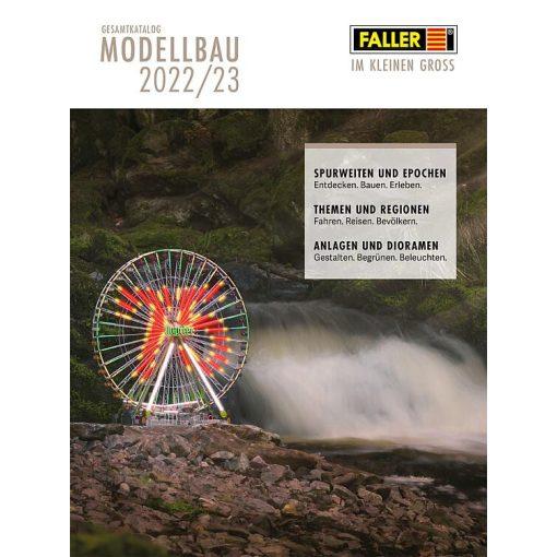 Faller 190909 Termékkatalógus 2021/2022, német nyelven