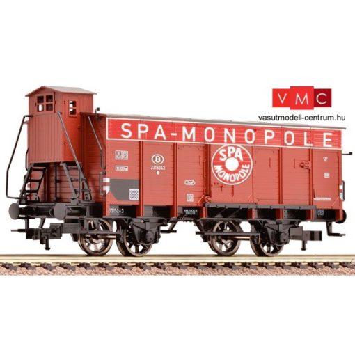 Fleischmann 535808 Hűtőkocsi fékházzal, barna, SPA, SNCB (E3)