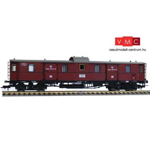 Fleischmann 568004 Poggyászkocsi, négytengelyes Pw 4ü pr04, K.P.E.V. (E1) (H0)