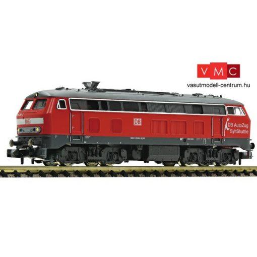 Fleischmann 723611 Dízelmozdony BR218, SyltShuttle, DB AG/DB AutoZug (E6)