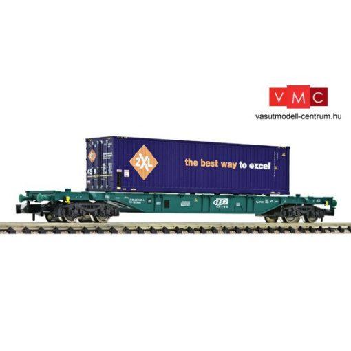 Fleischmann 825207 Konténerszállító négytengelyes teherkocsi, Sgns, 40 lábas konténerrel