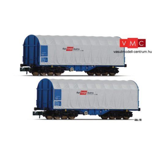 Fleischmann 837924 Ponyvás négytengelyes teherkocsi-pár, Shimms, ÖBB Rail Cargo Austria (E6