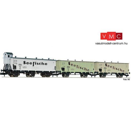 Fleischmann 881810 Hűtőkocsi-készlet, 3-részes Seefische, DRG (E2) (N)