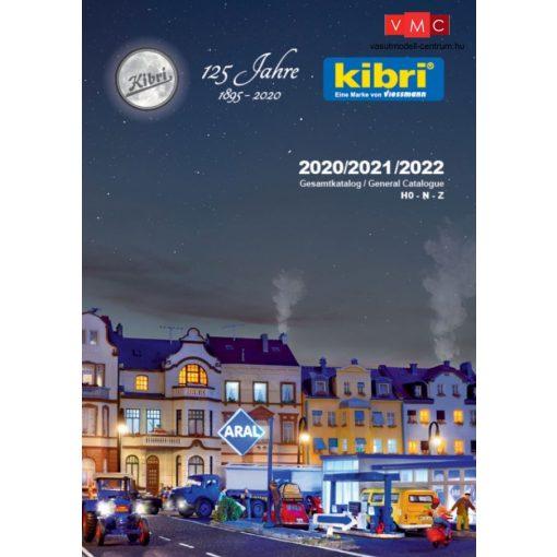 Kibri 99904 Termékkatalógus, 2020/2021/2022, angol/német