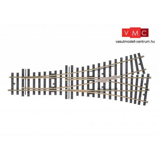 Märklin 59091 Aszimmetrikus hármasváltó, r1.394 mm, világító váltóábrákkal (1)
