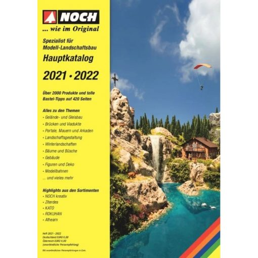 Noch 72210 Termékkatalógus Noch 2021-2022, német nyelven