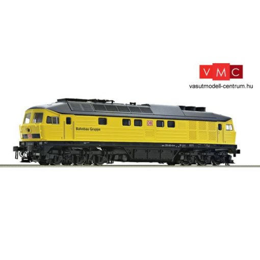 Roco 36284 Dízelmozdony BR 233 493, Bahnbau (E6) - Henning-Sound