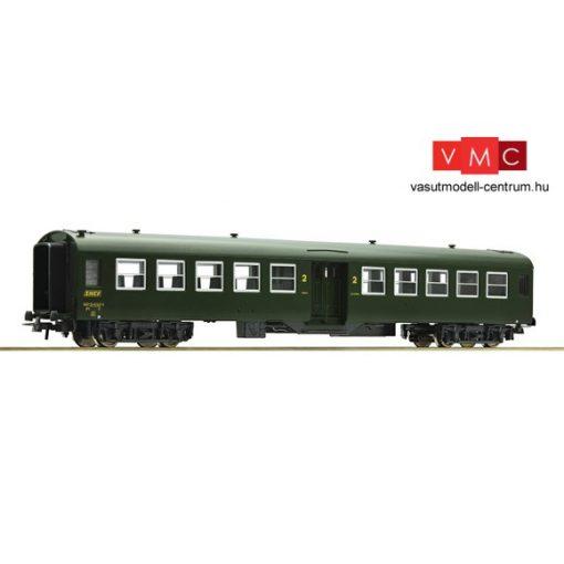Roco 54312 Személykocsi, négytengelyes Bruhat típus, 2. osztály, SNCF (E4) - harmadik pály