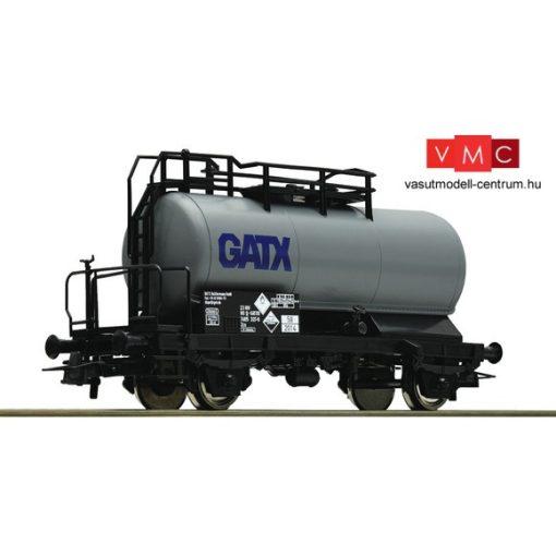 Roco 56260 Tartálykocsi fékállással, szürke GATX (E6)