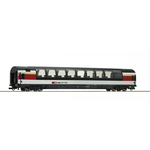 Roco 64397 Kilátókocsi, négytengelyes panorámakocsi, SBB (E6)