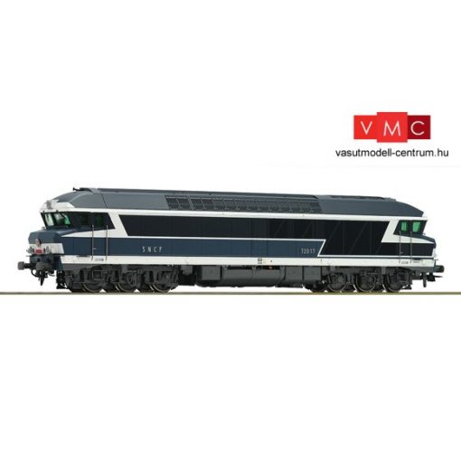 Roco 72986 Dízelmozdony CC 72000, kék, SNCF (E4)
