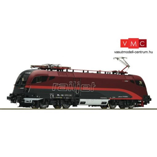 Roco 73234 Villanymozdony Rh 1116 Taurus, Railjet, ÖBB (E6) - Sound + DigiCam kamerával