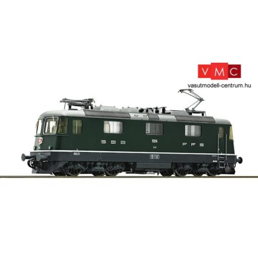 Roco 73255 Villanymozdony Re 4/4II, zöld, SBB (E4) - Sound