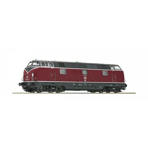 Roco 73821 Dízelmozdony BR 221, DB (E4) - Sound