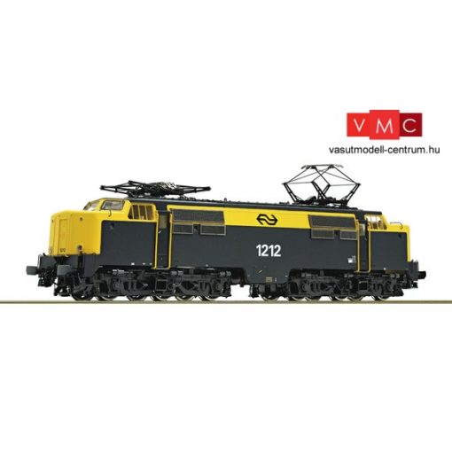 Roco 73830 Villanymozdony Serie 1212, NS, szürke/sárga (E4)