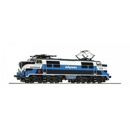 Roco 73835 Villanymozdony serie 1215, Railpromo (E6) - Sound