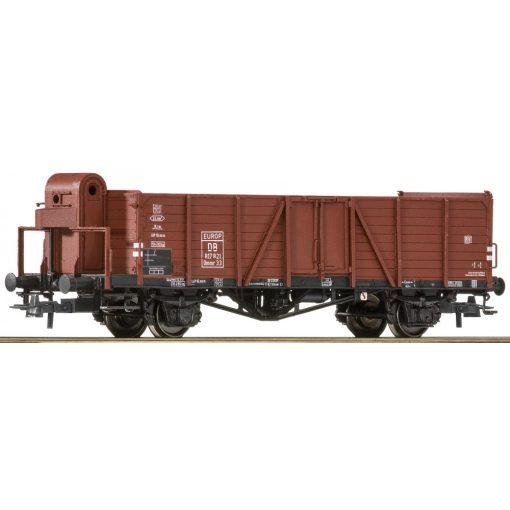 Roco 76250 Nyitott teherkocsi, Omm(r)33 Villach sorozat, fékházzal, DB (E3)