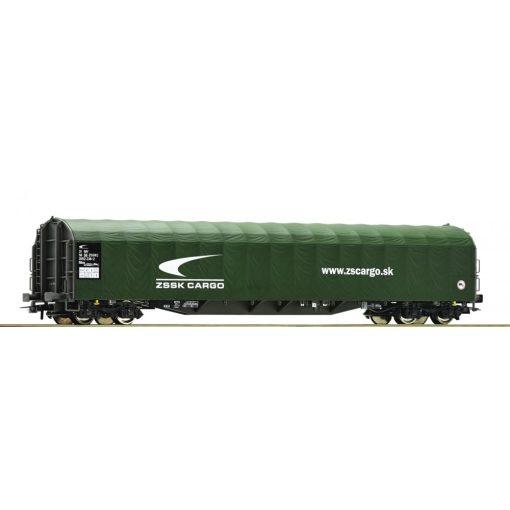 Roco 76472 Ponyvás négytengelyes teherkocsi, ZSSK-Cargo (E6)