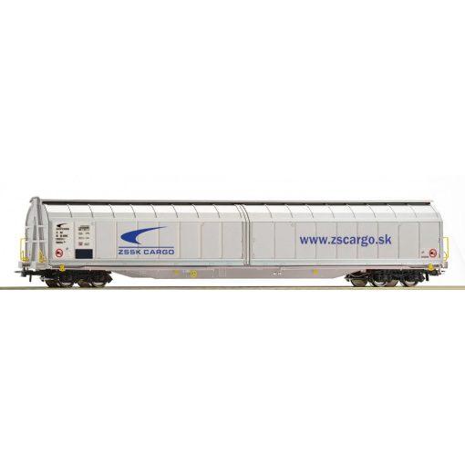 Roco 76482 Eltolható oldalfalú négytengelyes teherkocsi, Habbillns, ZS-SK Cargo (E6)