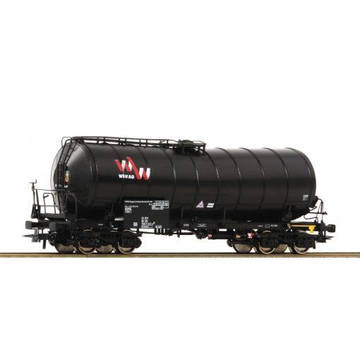Roco 76539 Tartálykocsi fékállással, négytengelyes Zaes, DB-AG (E5)