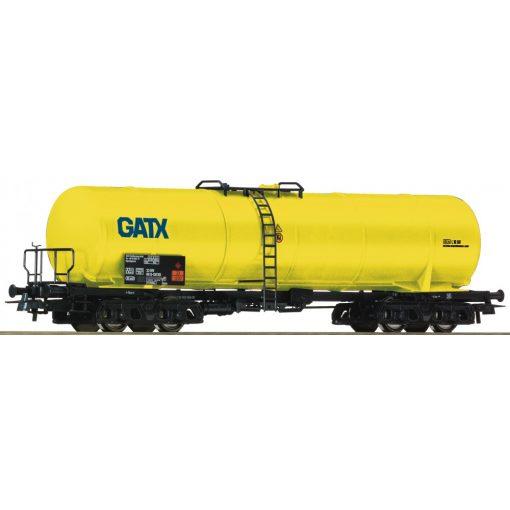 Roco 76695 Tartálykocsi, négytengelyes GATX, sárga (E6)