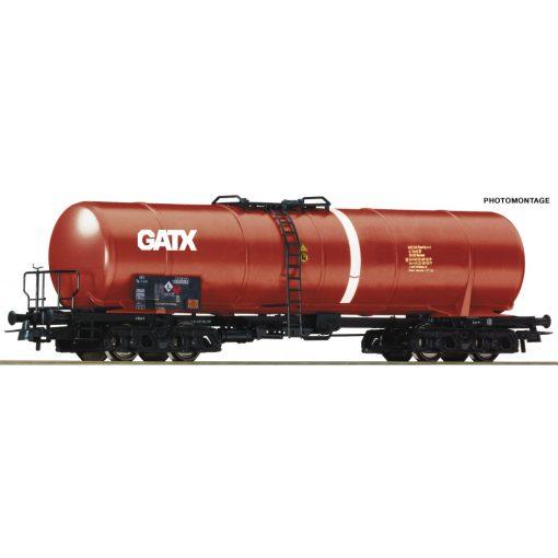Roco 76696 Tartálykocsi fékállással, négytengelyes Zas, GATX, PKP (E6)
