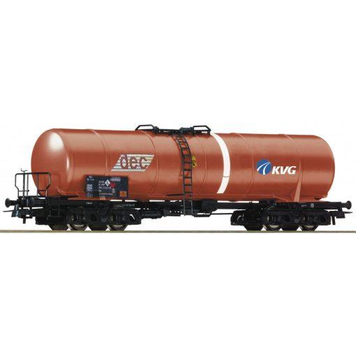 Roco 76697 Tartálykocsi, négytengelyes PKP, DEC / KVG (E5)