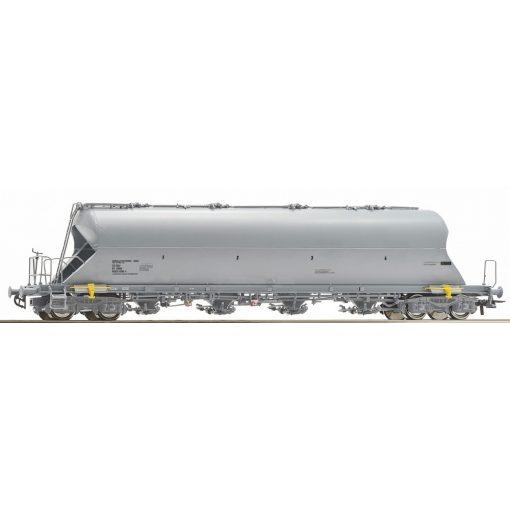 Roco 76703 Poranyagszállító négytengelyes teherkocsi, szürke Uacs, Borealis Polywerke GmbH