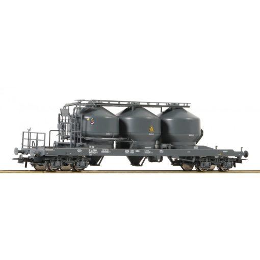 Roco 76881 Poranyagszállító négytengelyes tartálykocsi, Uacs, ÖBB (E6)