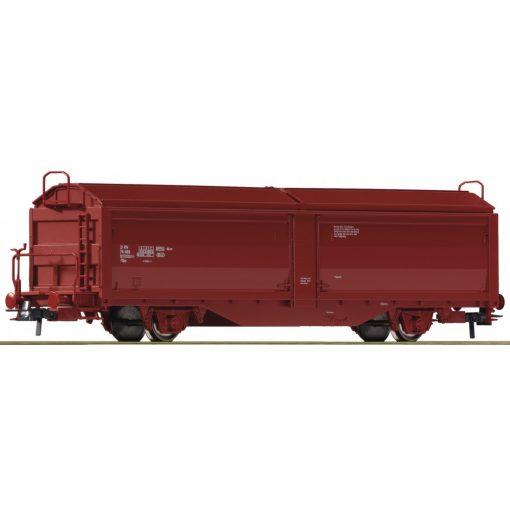 Roco 76889 Eltolható oldalfalú teherkocsi, fékállással, NSB (E5)
