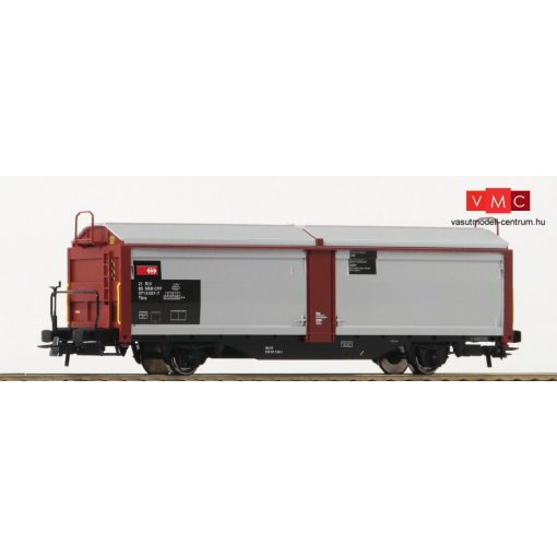 Roco 76898 Eltolható oldalfalú teherkocsi, Tbis, SBB (E5)