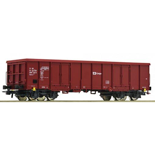 Roco 76899 Nyitott négytengelyes teherkocsi, Eaos, CD Cargo (E6)