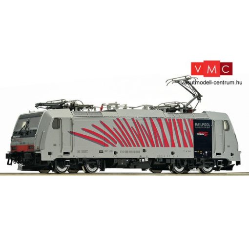 Roco 79319 Villanymozdony BR 186, Railpool, piros (E6) (H0) - AC / Sound