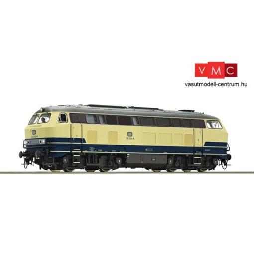Roco 79737 Dízelmozdony 210 004, DB