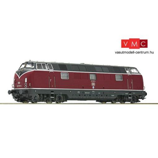 Roco 79821 Dízelmozdony BR 221, DB