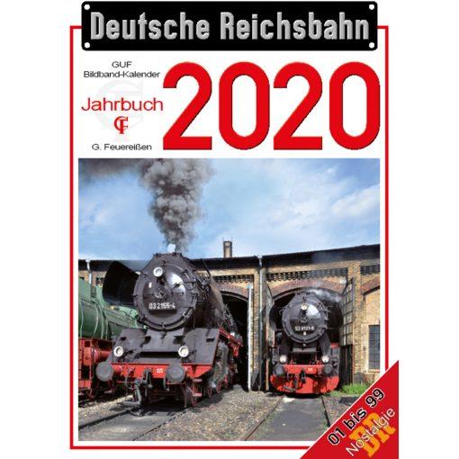 Tillig 9569 DR naptár 2020 (Feuereißen Verlag)